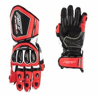 RST Tractech Evo 4 CE Motorcycle Gloves 2666 (Red/White/Black)