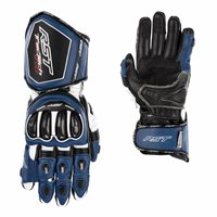 RST Tractech Evo 4 CE Motorcycle Gloves 2666 (Blue/White/Black)
