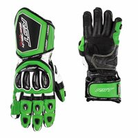 RST Tractech Evo 4 CE Motorcycle Gloves 2666 (Green/Black)