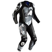 RST Pro Series Airbag CE One Piece Leathers 2520 (Grey Camo/Black)