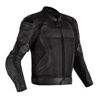 RST TracTech Evo 4 CE Leather Mesh Jacket 2526 (Black)