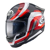 Arai Quantic Snake Motorcycle Helmet (Red)