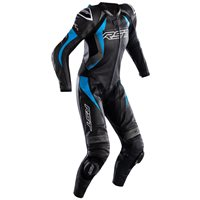 RST Tractech Evo 4 CE Ladies Leather One Piece Suit 2535 (Black/Grey/Blue)