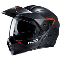 HJC C80 Bult Flip Front Motorcycle Helmet (Orange)