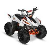 Kayo Fox 70 ATV (White/Orange)