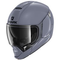 Shark EvoJet Flip Front Motorcycle Helmet (Gloss Grey)