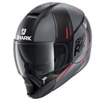 Shark EvoJet Flip VYDA Front Helmet (Matt Black/Anthracite/Red)