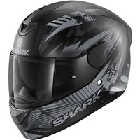 Shark D-Skwal 2 Penxa Motorcycle Helmet (Matt Black/Anthracite)