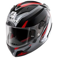 Shark Race R Pro Aspy Helmet (Black/Anthracite/Red)