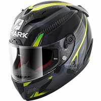 Shark Race R Pro Carbon Aspy Helmet (Carbon/Anthracite/Yellow)