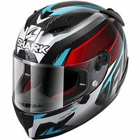 Shark Race R Pro Carbon Aspy Helmet (Carbon/Red/Blue)