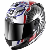 Shark Race R Pro Carbon Zarco Helmet (Black/Red/Pearl)