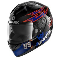 Shark Ridill 1.2 Catal Bad Boy Helmet (Black/Blue/Orange)