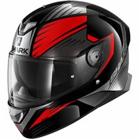 Shark Skwal 2 Hallder Helmet (Black/Red/Anthracite)