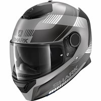 Shark Spartan 1.2 Strad Motorcycle Helmet (Matt Anthracite/Black)