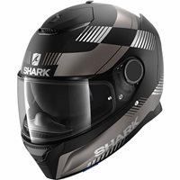 Shark Spartan 1.2 Strad Motorcycle Helmet (Matt Black/Anthracite)