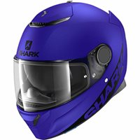Shark Spartan Motorcycle Helmet (Matt Blue)