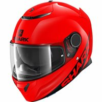 Shark Spartan Motorcycle Helmet (Red)