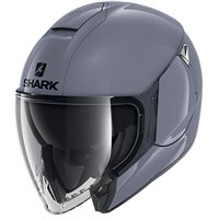 Shark Citycruiser Open Face Helmet (Gloss Grey)