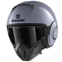 Shark Street Drak Open Face Helmet (Gloss Grey)
