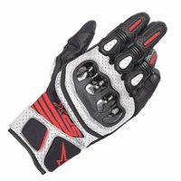 Alpinestars SP-X Air Carbon V2 Motorcycle Glove (Black|White|Red)
