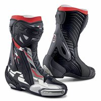 TCX RT-Race Pro Air Motorcycle Boots (Black/Grey/Red)