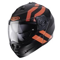 Caberg Duke II Super Legends Flip Front Helmet (Matt Black/Red)