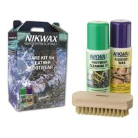 Nikwax  Care Kit-For Leather Footwear