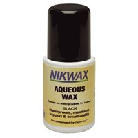 Aqueous Waterproofing Wax for Leather Liquid - Black 125ml by Nikwax