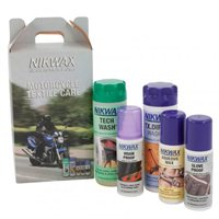 Nikwax  Motorcycle Care Kit-Textile