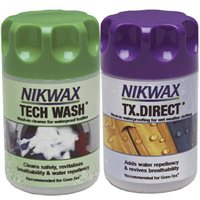 Nikwax  TX Direct Wash & Tech Wash 150ml Twin Pack