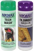 Nikwax  TX Direct Wash & Tech Wash 300ml Twin Pack