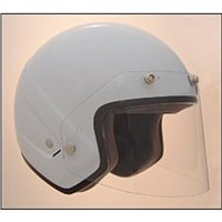 Bob Heath BHV1 Wrap Around 5 Stud Visor for Open Face - Clear