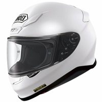 Shoei NXR White Helmet