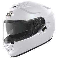 Shoei  GT Air Plain White Motorcycle Helmets