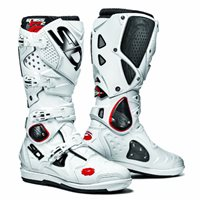 Sidi  Crossfire 2 SRS Motocross CE Boots (White/White)