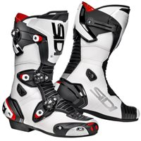 Sidi Mag-1 Motorcycle Boots (White/Black)