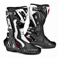 Sidi ST Air Motorcycle Boots (Black/White)