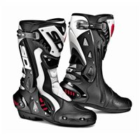 Sidi ST Motorcycle Boots (Black/White)