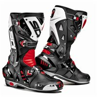 Sidi  Vortice Motorcycle Boots (Black/Red/White)