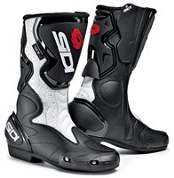 Sidi  Fusion Lady Black/White Ladies Motorcycle Boots