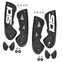 Sidi Vortice Ankle Support Braces (Black)