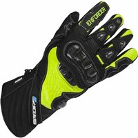 Spada Leather Gloves ENFORCER WP (Black/Fluo Yellow)