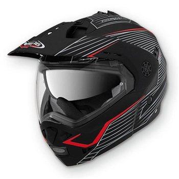 b1a0095b Caberg Tourmax Sonic Flip Front Helmet (Matt Black/Red)   The Visor Shop.com