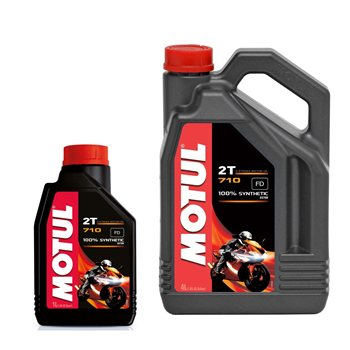 MOTUL 710 2T 100% Fully Synthetic Oil  - Click to view larger image