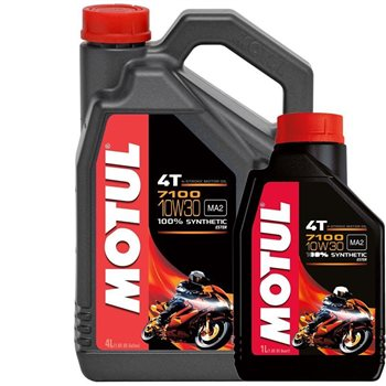 7100 10w30 High Performance Fully Synthetic Oil - 1L 7100 10W30 4T HONDA  SPEC