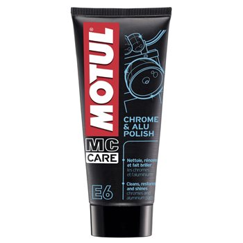 MOTUL E6 Chrome & Alu Polish 100ml 1