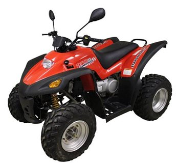 review smc atvs fun utility 180cc atv quad the visor. Black Bedroom Furniture Sets. Home Design Ideas