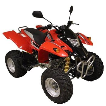 250cc Sports ATV Quad - Red