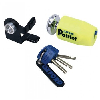 Oxford Patriot Disc Lock Oxford Patriot Disc Lock  - Click to view larger image